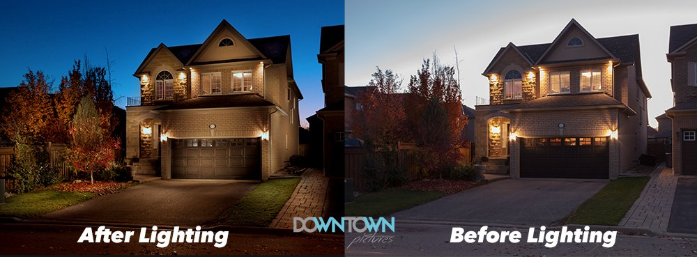Real estate Photography before and after